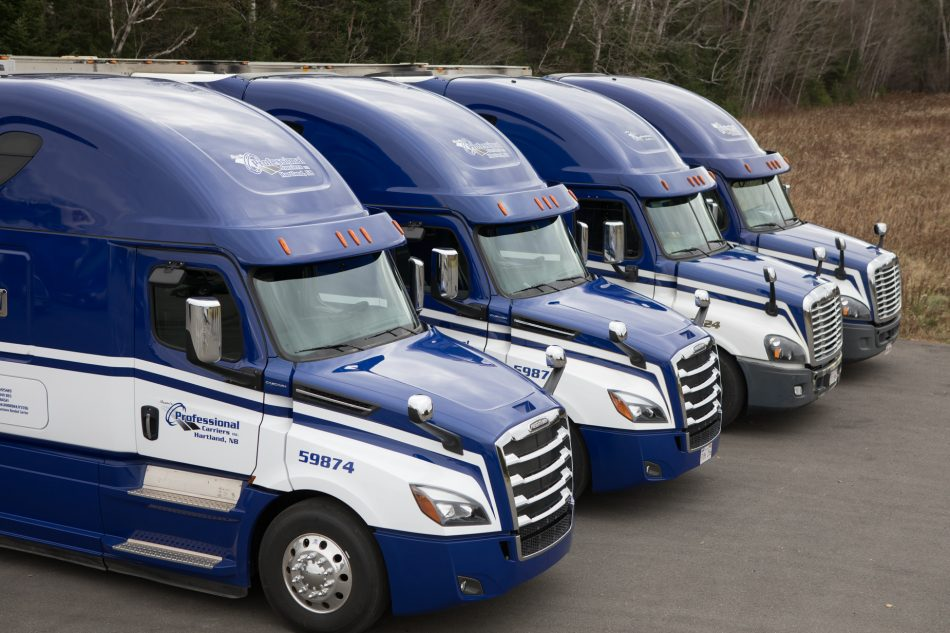 Professional Carriers fleet